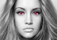 UV Pink Contacts - 90 Day